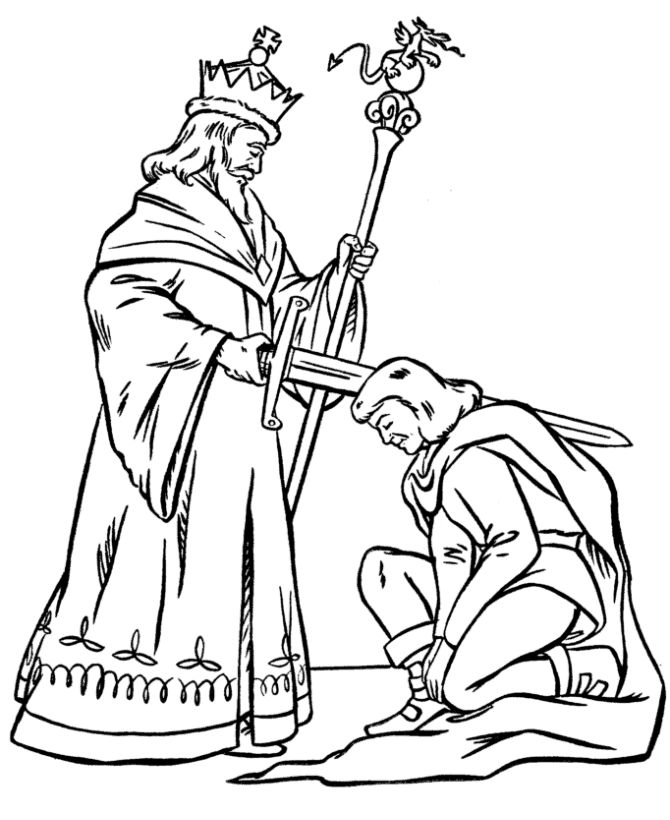 Crusader Coloring Pages