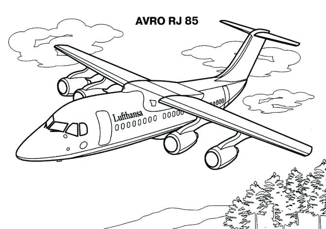 671x471 Coloring Pages Of Planes