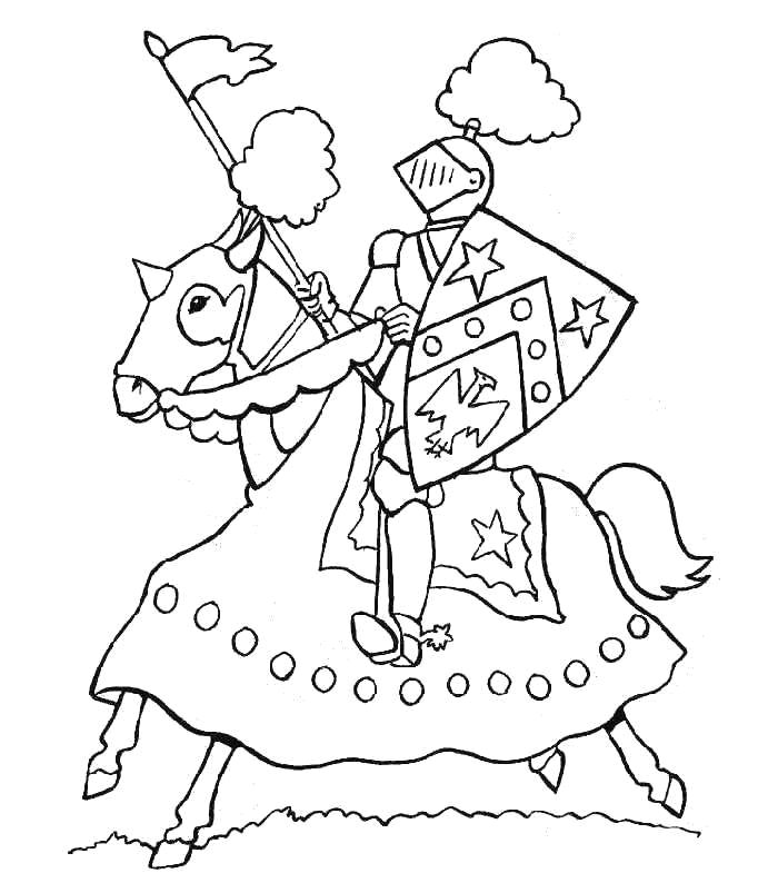 700x803 Knight Coloring Pages Easily Knight Coloring Pages Kids N Fun Com