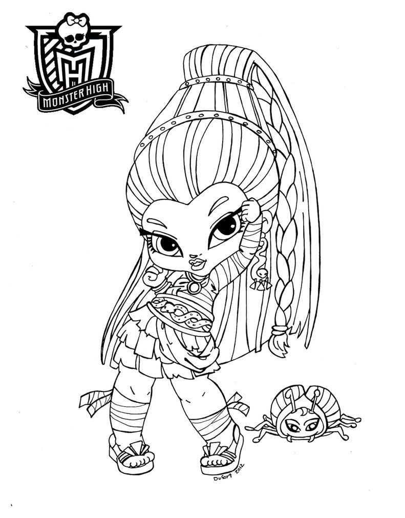 791x1011 Monster High Coloring Pages Games To Print Coloring For Kids