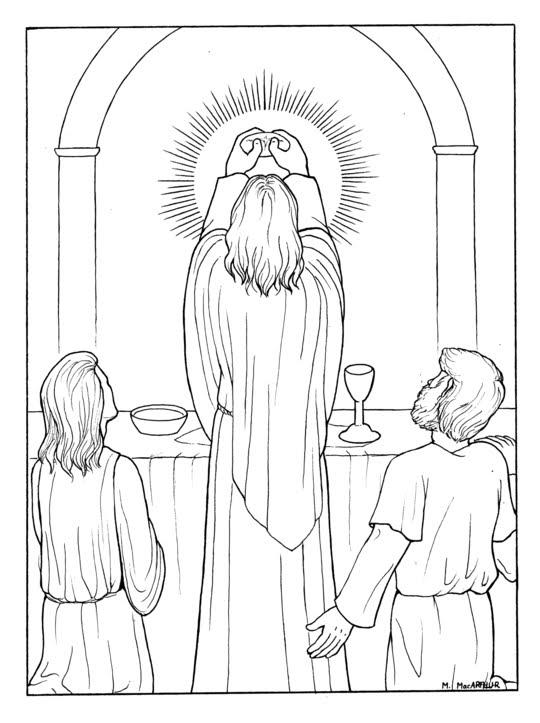 540x723 The Catholic Illustrator's Guild Luminous Mysteries Coloring Book