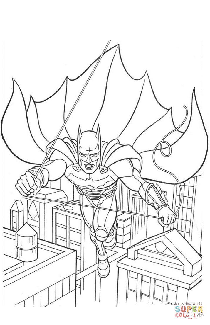 715x1109 Best Batman Coloring Pages Images On Batman