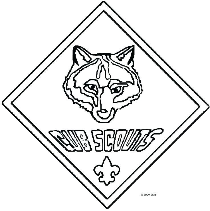 736x739 Cub Scout Outdoorsman Worksheet Printable Coloring Cub Scout