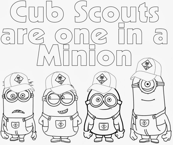 736x617 Free Cub Scout Coloring Pages Cub Scout Coloring Sheets
