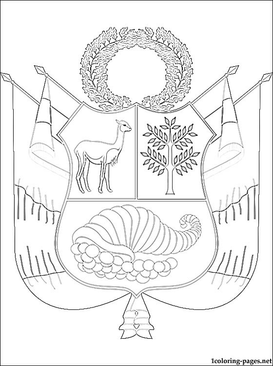 560x750 Coat Of Arms Coloring Pages Free