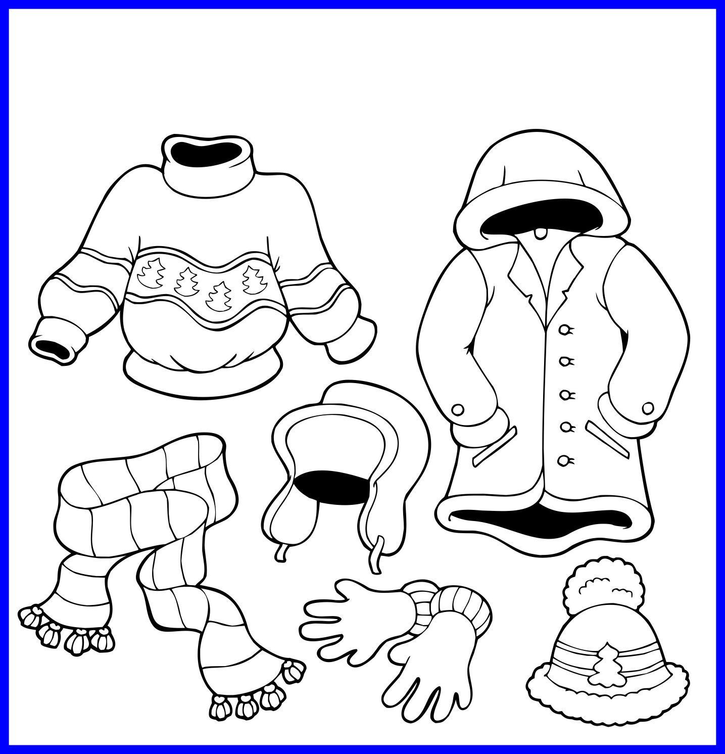 1435x1492 Shocking Secrets Winter Animals Coloring Pages Image