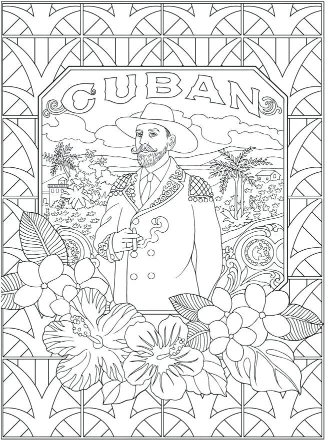 650x883 Cuba Coloring Pages