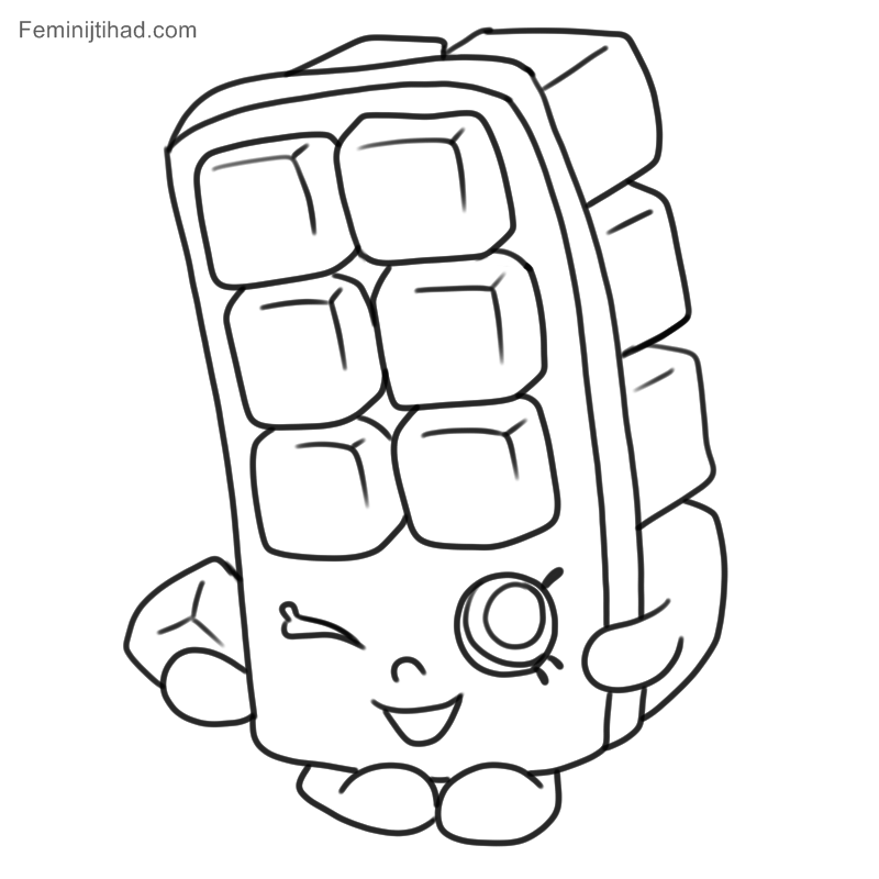 800x800 Printable Shopkins Coloring Pages To Print Coloring Pages
