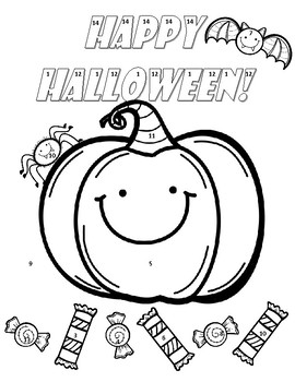 270x350 Square Roots Cube Roots Halloween Color Page Activity Tpt