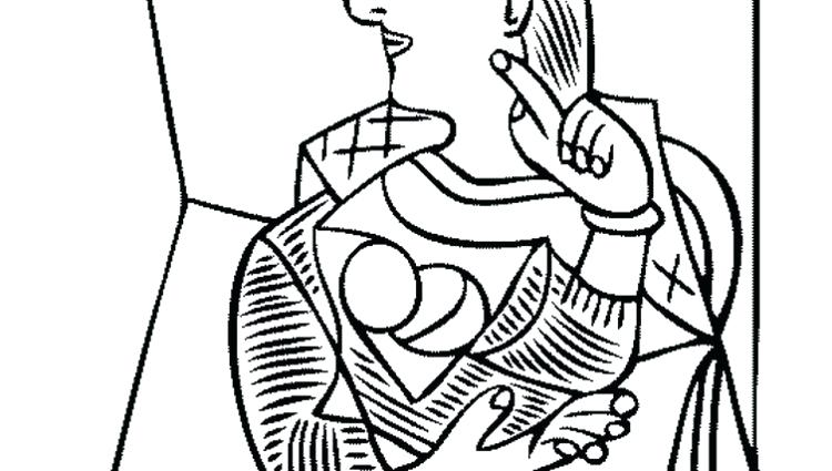 750x425 Awesome Picasso Coloring Pages For X A Next Image A Wallpaper
