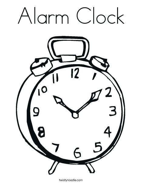 Cuckoo Clock Coloring Page