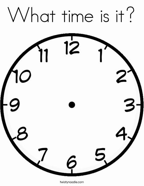 468x605 Digital Clock Coloring Page Photos Cuckoo Clock Coloring Page