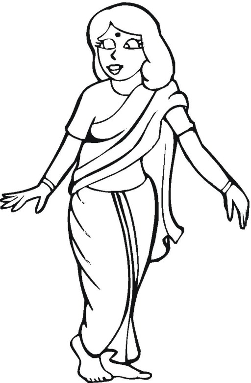 512x780 Cultural Coloring Pages