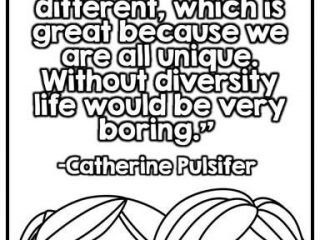 320x240 Free Diversity Coloring Sheets Best Multiculturalism Quotes
