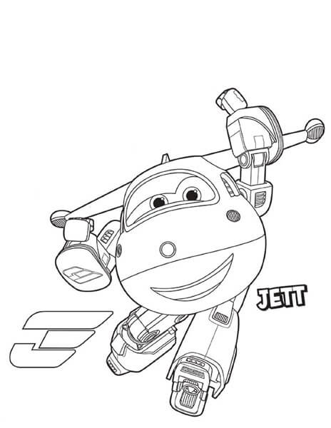464x600 Free Printable Super Wings Coloring Pages