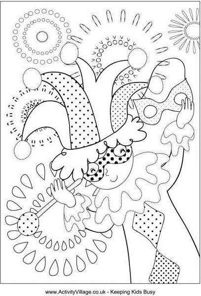 407x599 Mardi Gras Coloring Pages Keila V Dawson