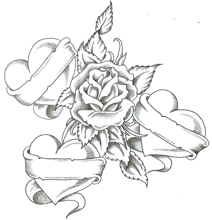 736x764 Tattoo Coloring Pages To Print
