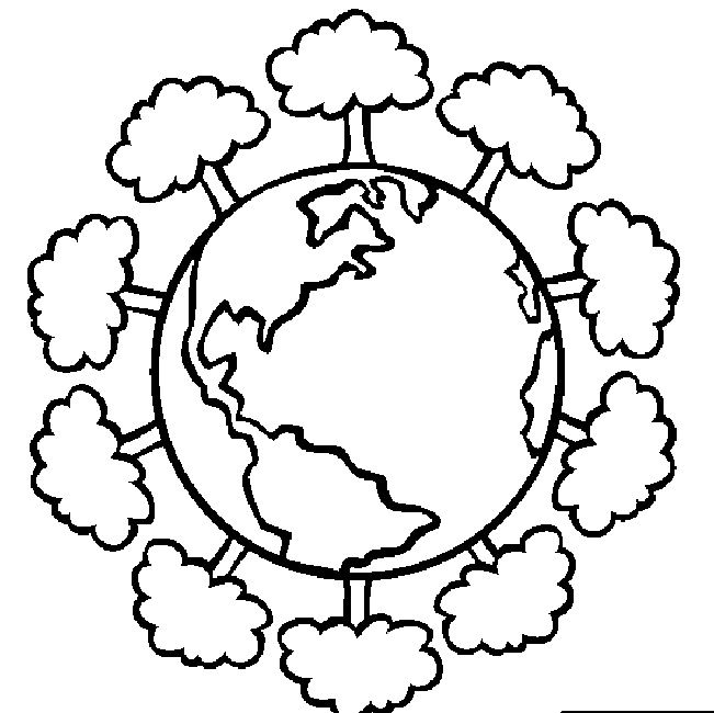651x650 Online Earth Day Coloring Pages Occupation Earth