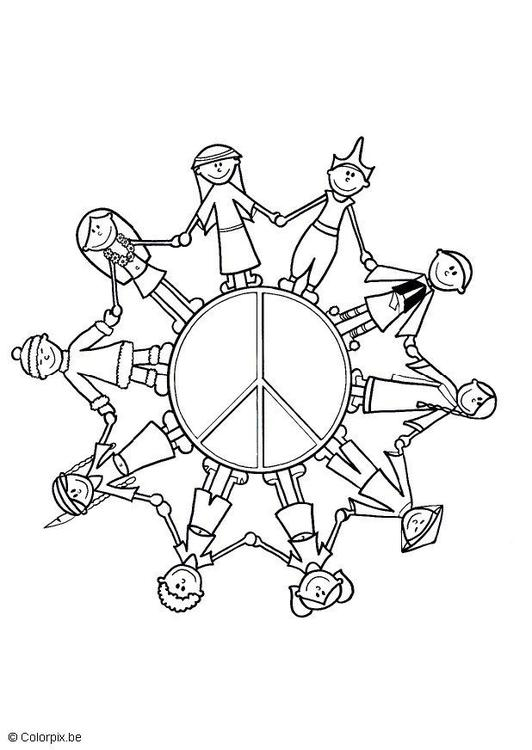 532x750 Children Of The World Colouring Page Child
