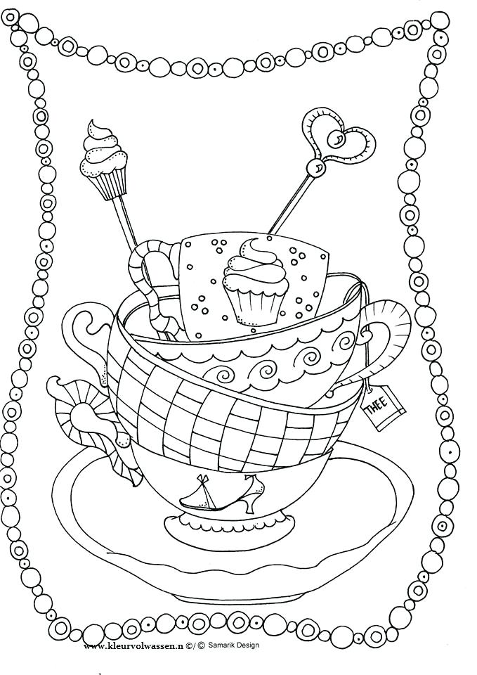 679x960 Best Coloring Images On Coloring Books Coloring Cup Of Coffee
