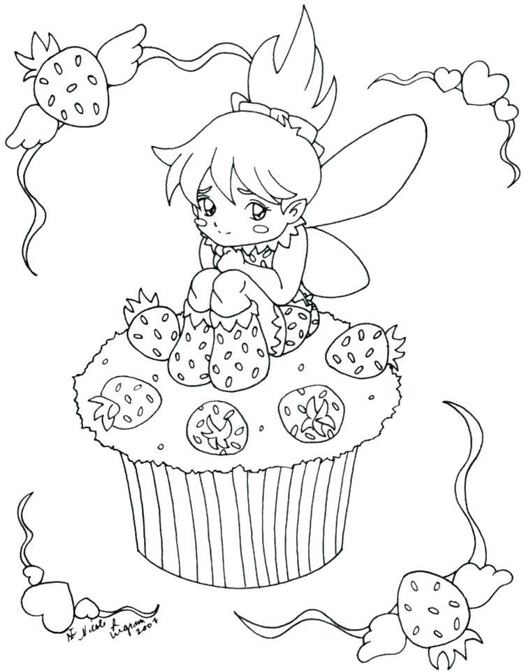750x960 Pinkalicious Coloring Pages Coloring Page Cupcake Coloring Pages
