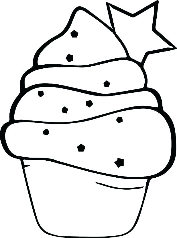 618x832 Cupcake Color Page Pretty Coloring Pages Cupcakes Free Download