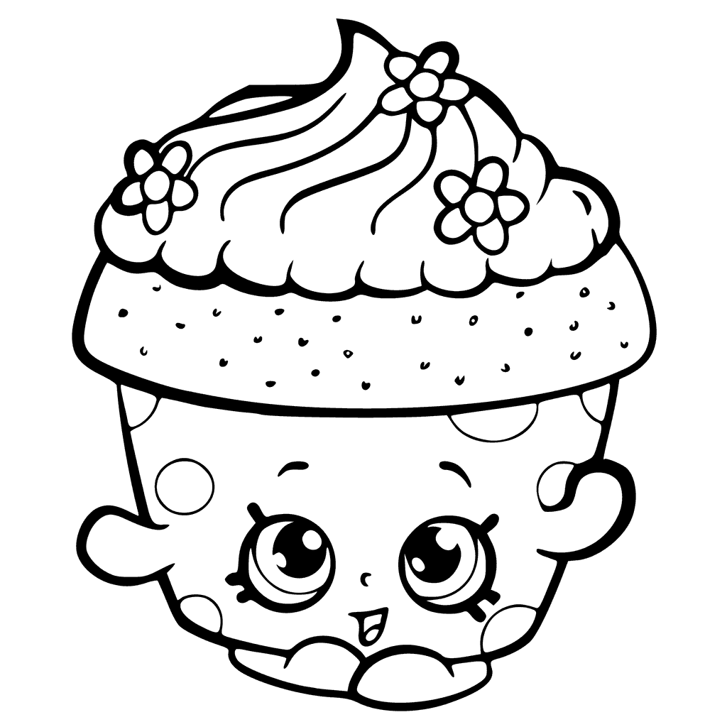 1024x1024 Approved Cupcake Coloring Pages To Print Lovely Ribsvigyapan Com