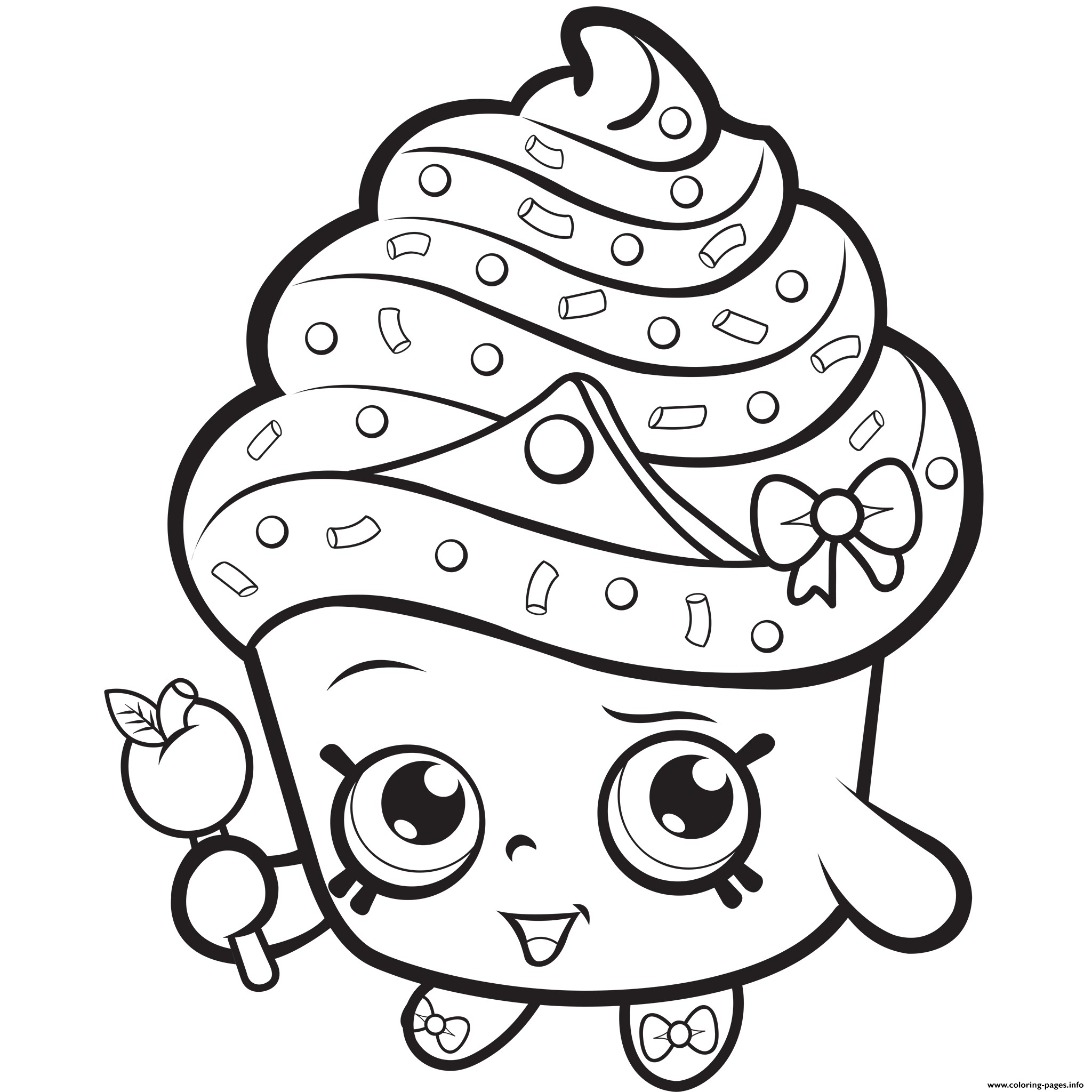 2048x2048 Fresh Cupcake Coloring Pages Advance