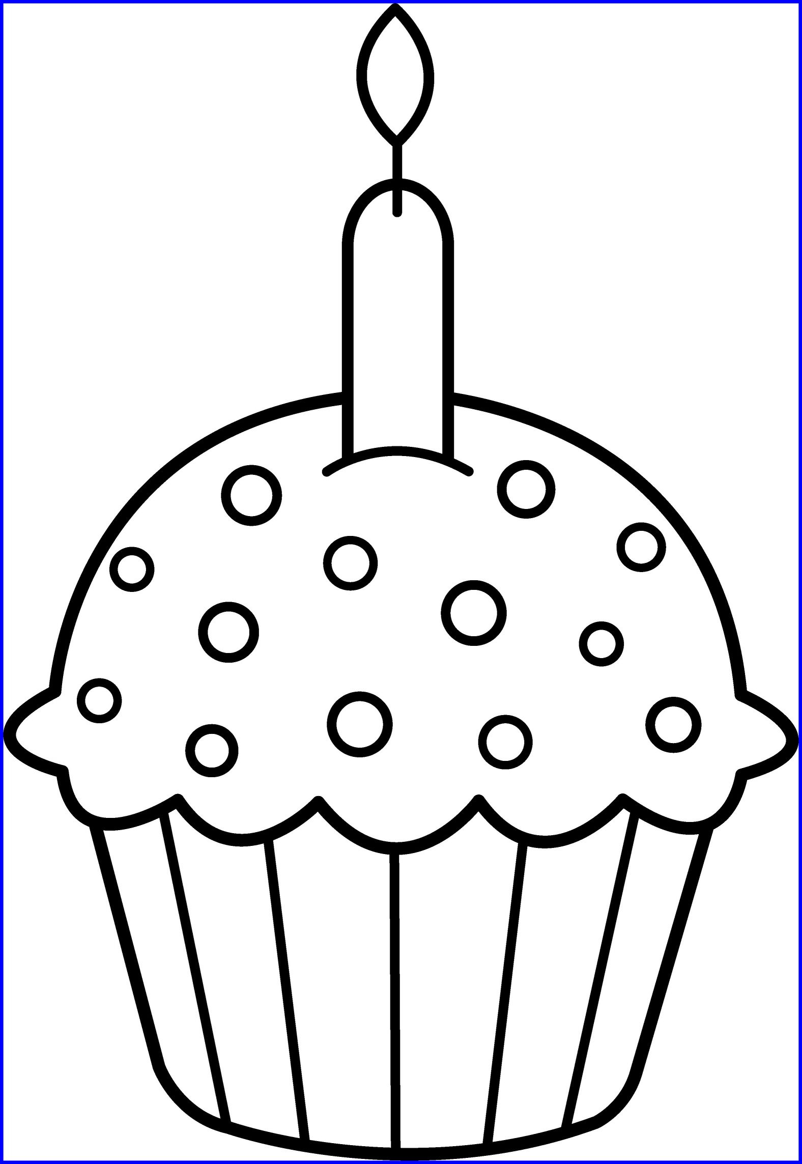 1576x2287 Incredible Printable Cupcake Coloring For Kids Cool Bkids