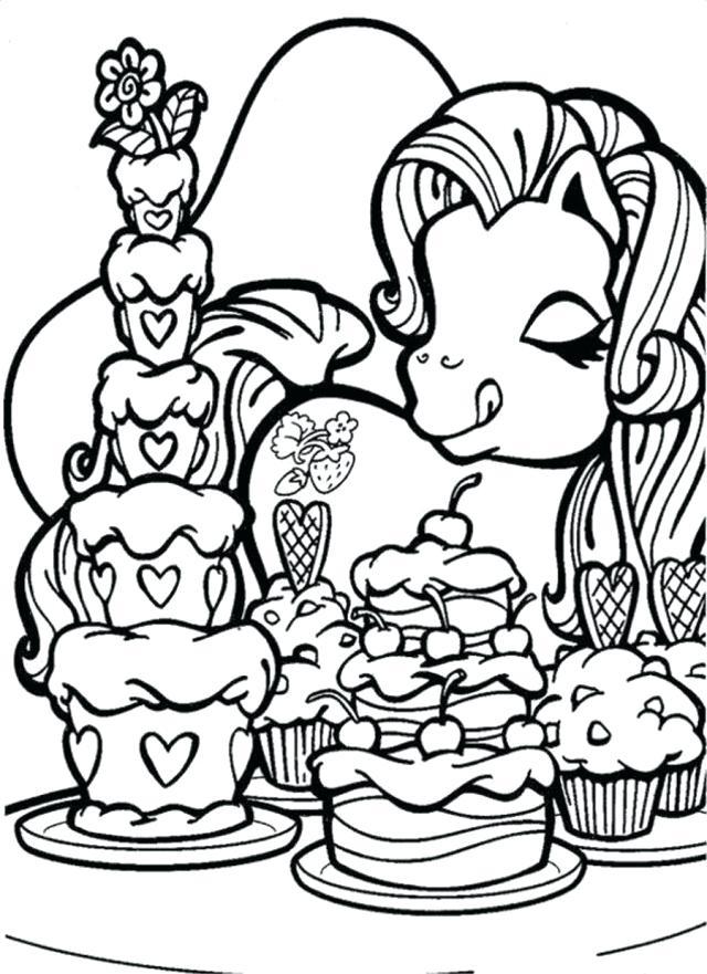640x881 Cupcake Coloring Pages Cupcake Coloring Page Shopkins Cupcake
