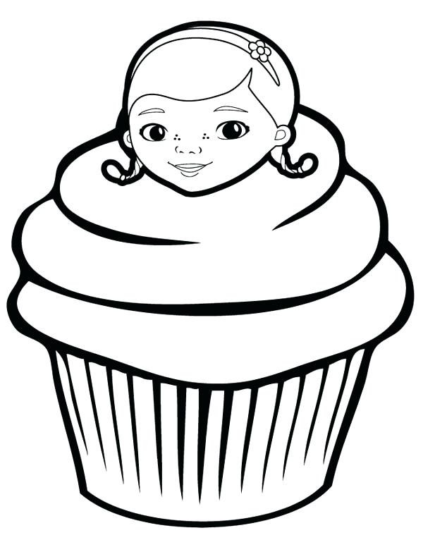 600x776 Cupcake Coloring Pages Cupcake House Coloring Page Cupcake Queen