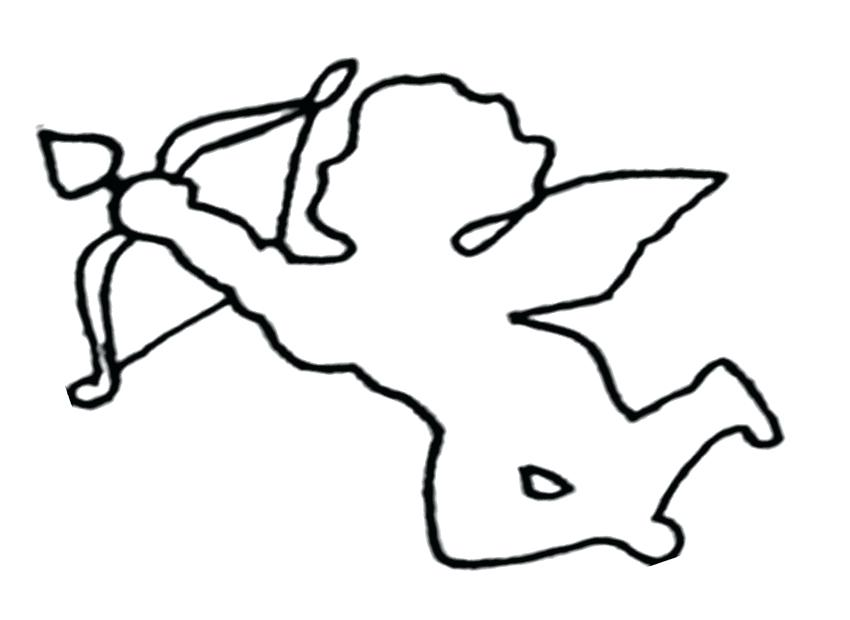 Cupid Coloring Pages At Getdrawings Free Download