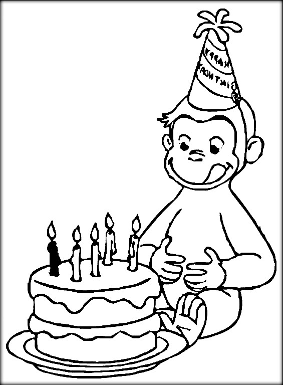 565x768 Curious George Coloring Pages
