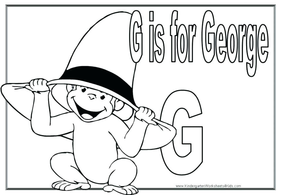 960x663 Curious George Coloring Pages Curious Coloring Curious Coloring
