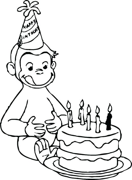520x710 Curious George Coloring Pages Luxury Curious Coloring Pages