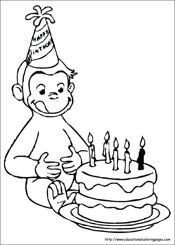 567x794 Curious George Coloring Pages Printable Curious Coloring Pages