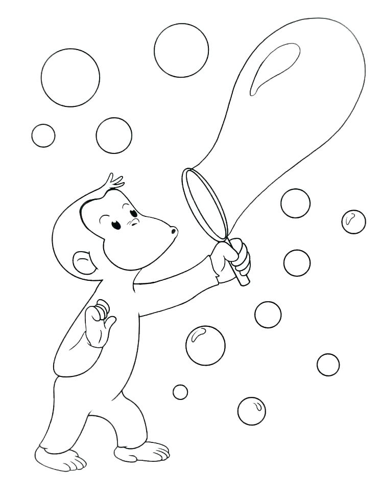 746x960 Free Curious George Coloring Pages Curious Coloring Page Free