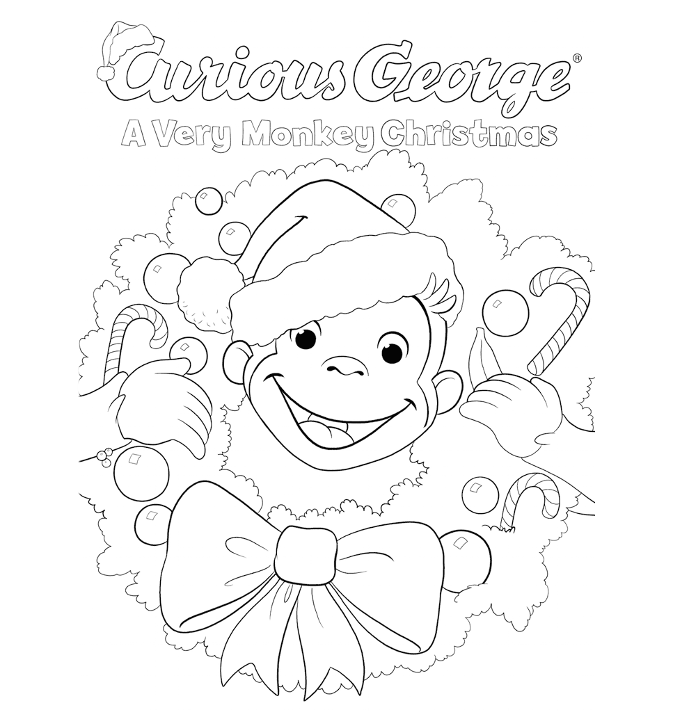 990x1044 Profitable Curious George Printables Coloring Pages Impressive