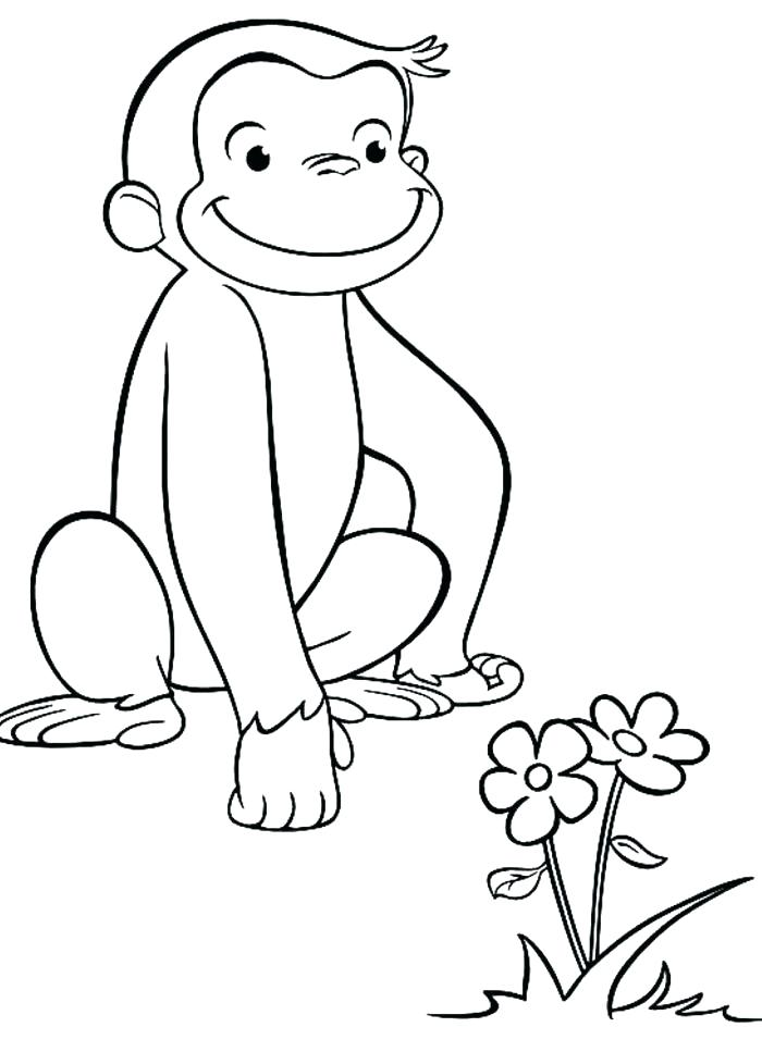 700x967 Curious Coloring Pages Printable Curious Coloring Pages Printable