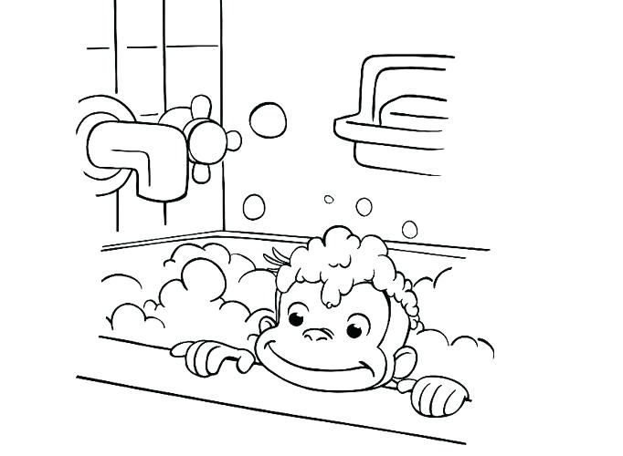 682x500 Kids N Coloring Pages Of Curious Curious Curious George Pictures