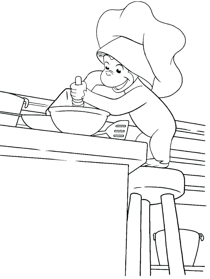 736x979 Coloring Pages Curious George Free Curious Coloring Pages Curious
