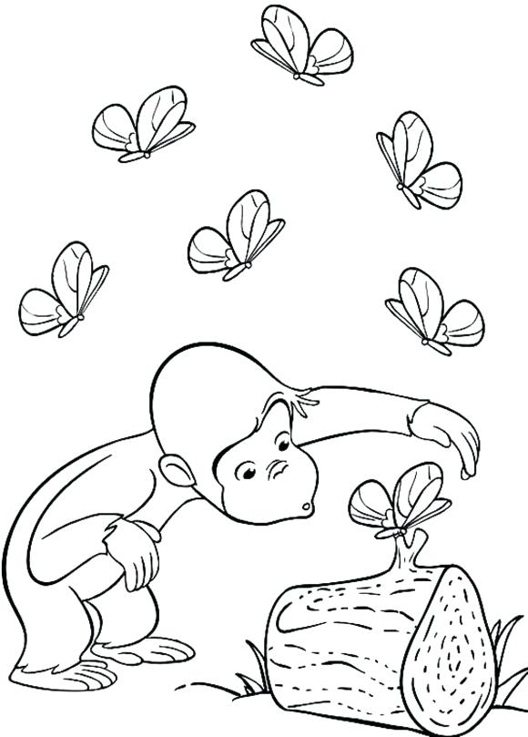 580x809 Coloring Pages Curious George Voyancedirecteme Coloring Pages