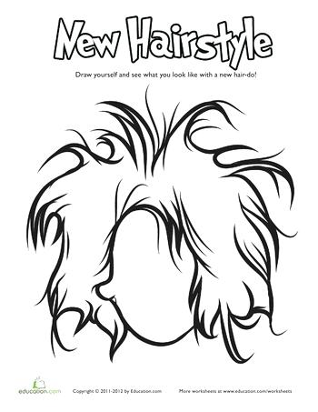 350x453 Hair Coloring Pages Free Coloring Pages Of Comb Curly Hair