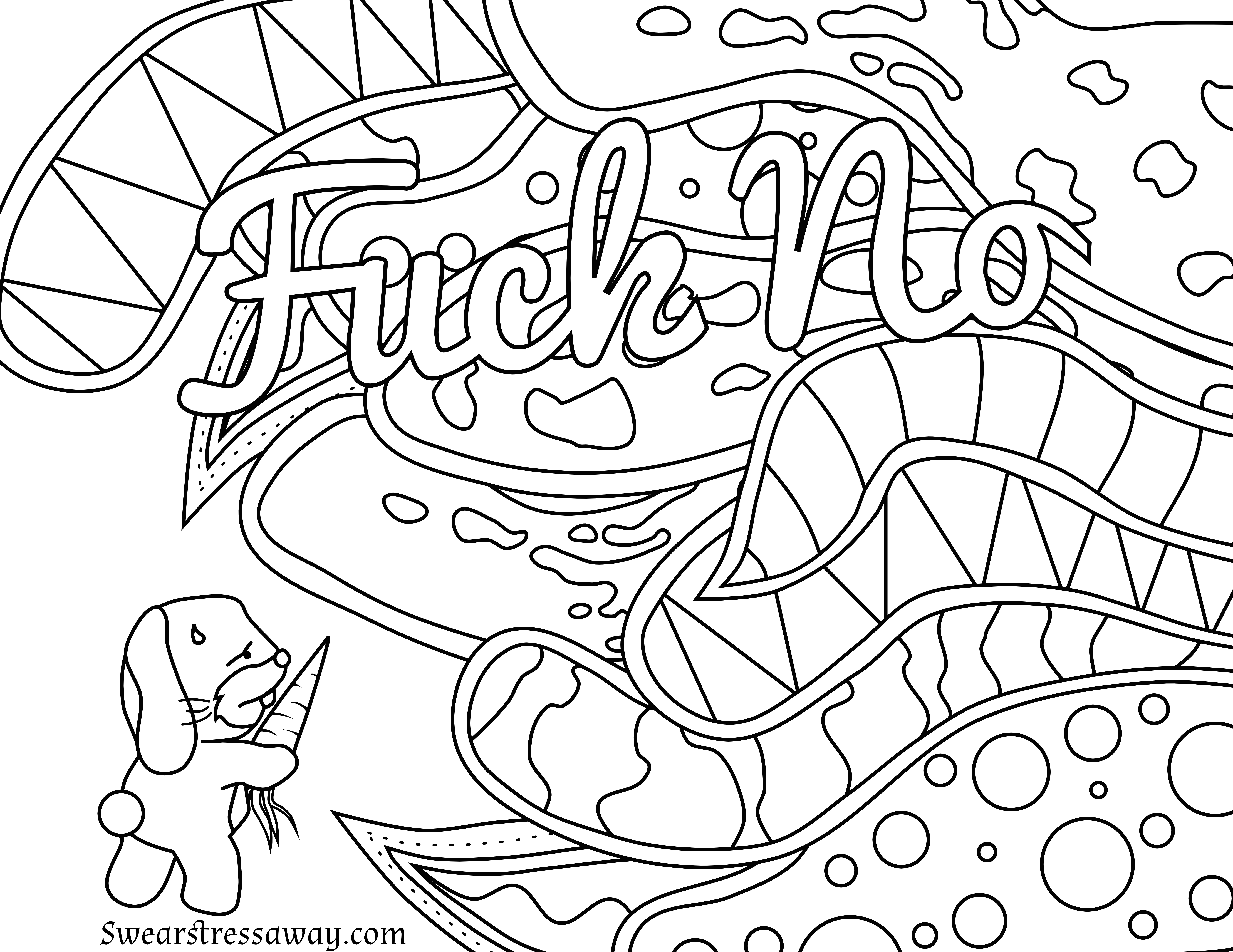 6900x5328 Image Result For Curse Words Coloring Pages Crafts New Coloring