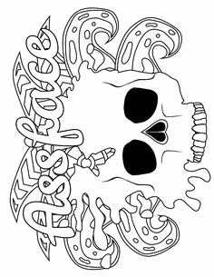 image relating to Printable Swear Word Coloring Pages called Curse Term Coloring Webpages Printable at
