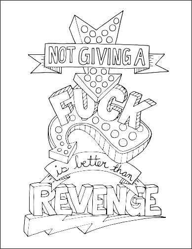 389x504 Word Coloring Pages Word Coloring Pages Swear Word Adult Coloring