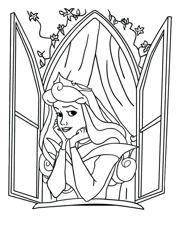 600x776 Window Curtain Coloring Page Superb Outstanding Window Coloring