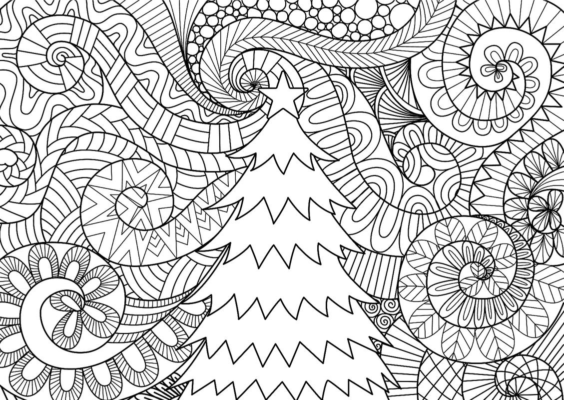 1129x800 Christmas Coloring Pages Printable Coloring Pages