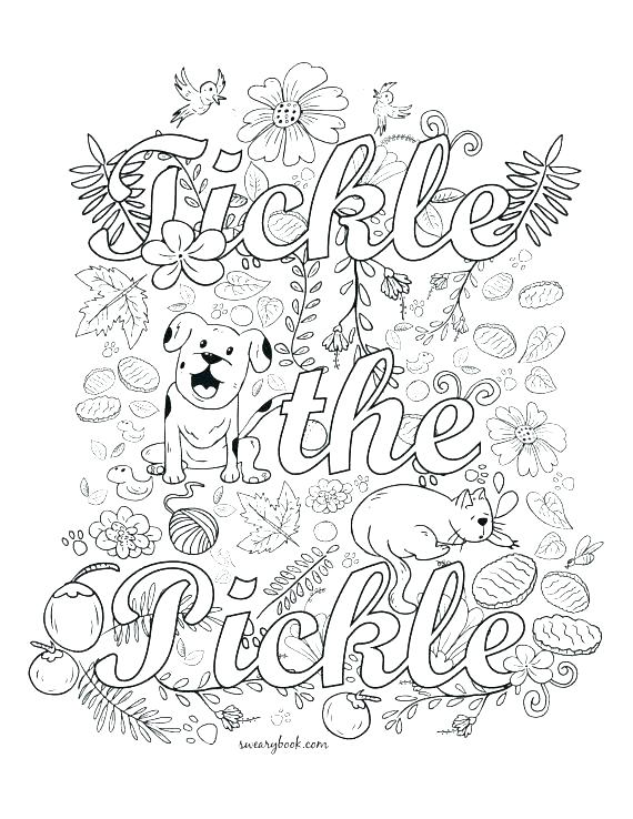 graphic about Free Printable Swear Word Coloring Pages titled Cuss Term Coloring Web pages Printable at  No cost