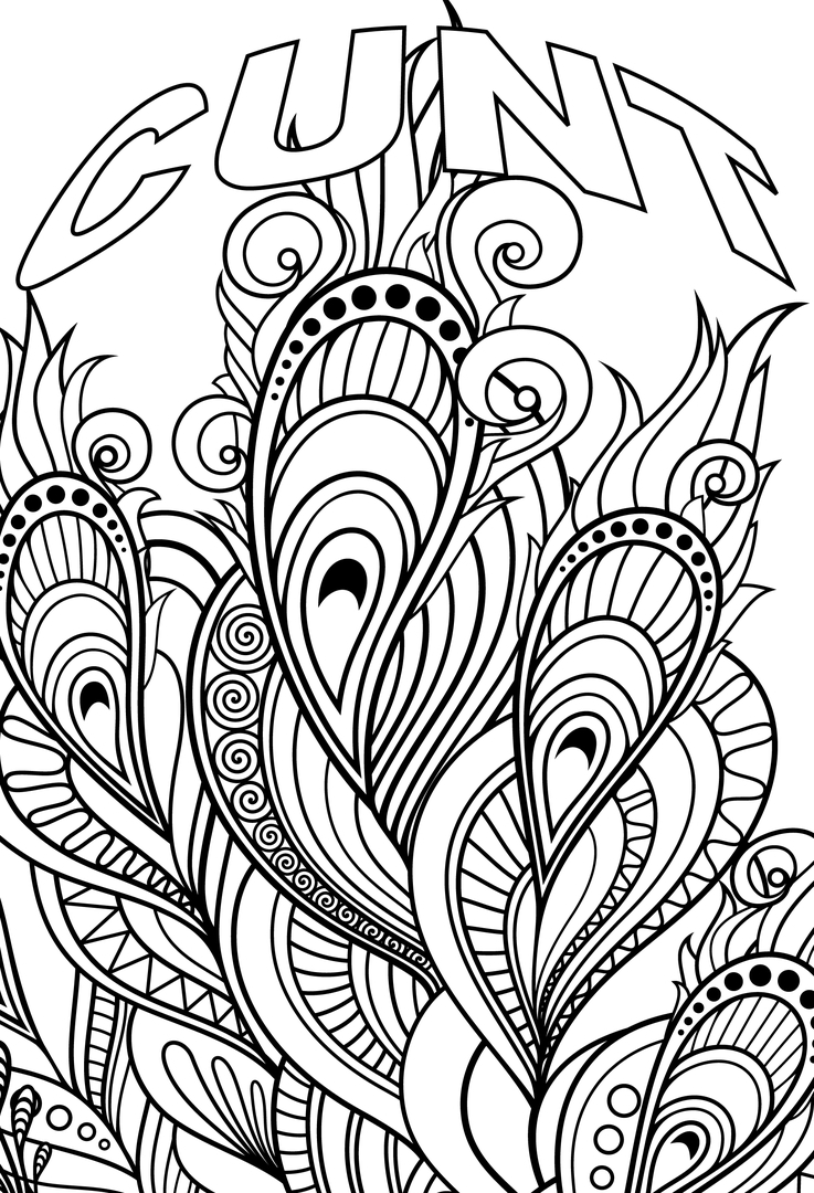 737x1080 Cuss Word Coloring Pages Pictures Free Coloring Pages
